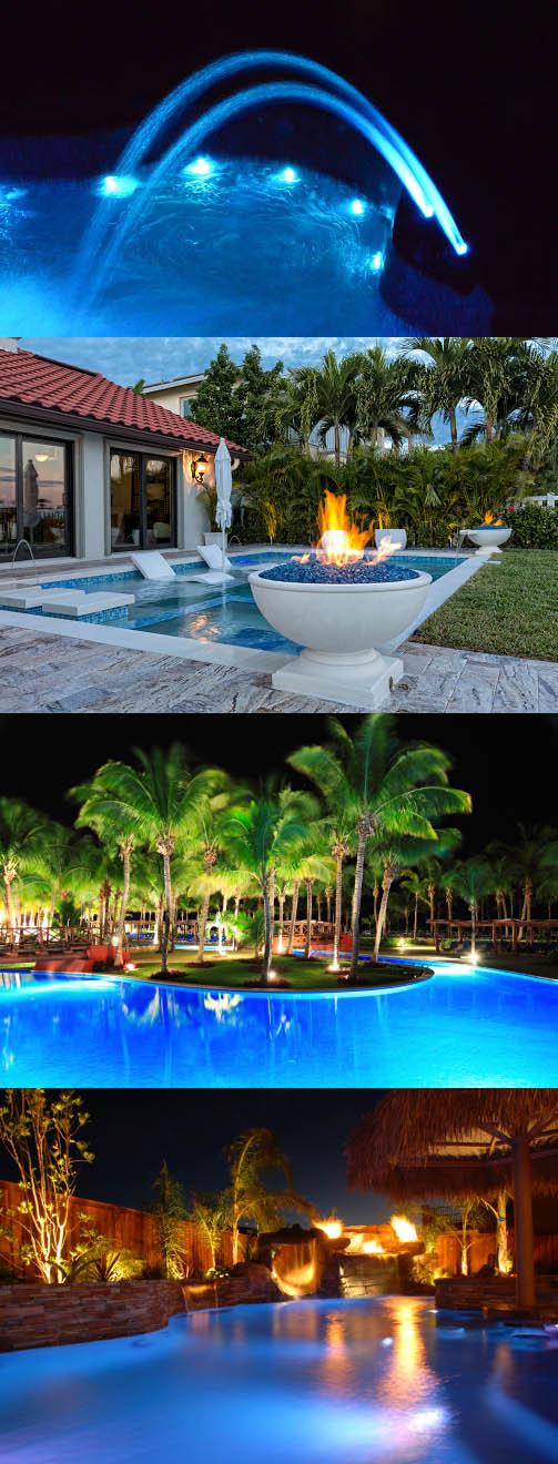 Various Pools and Spas